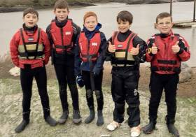 Foynes Yacht Club juniors travelled to Baltimore in West Cork for the Optimist clinic