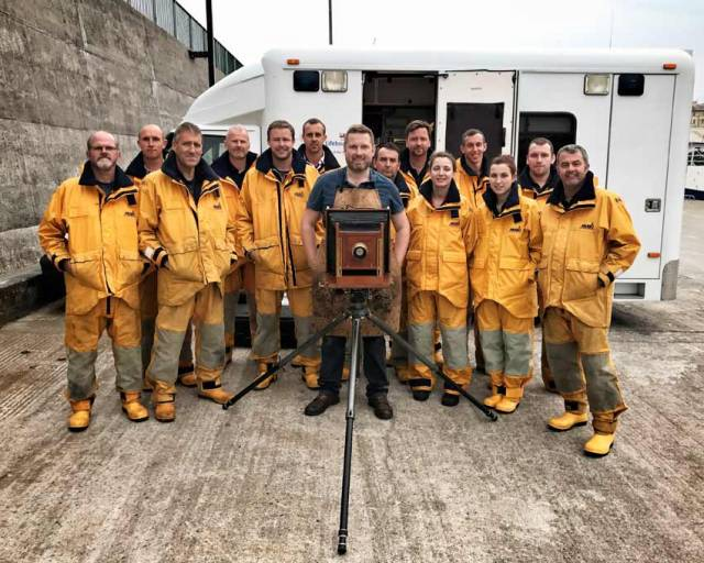 Acclaimed Photographer Tours Irish Lifeboat Stations With Victorian Camera