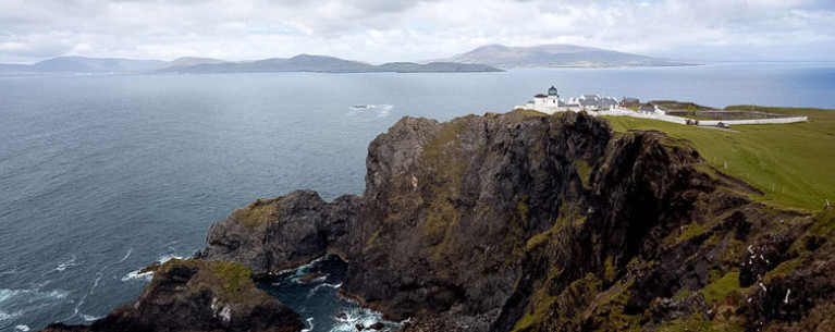 Clare Island is the largest of Mayo's offshore islands