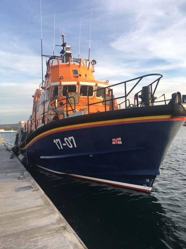 Valentia RNLI's all-weather lifeboat