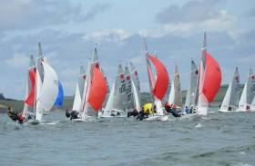 The 2020 Fireball World Championships will be staged at Howth Yacht Club. The last time the event sailed here was in 2011 in Sligo (above).