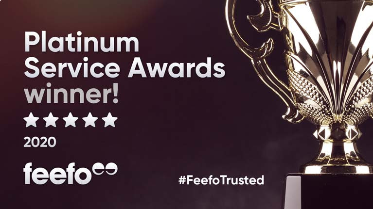 CH Marine Presented with Feefo Platinum Trusted Service Award for Online Business