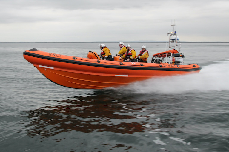Galway lifeboat assisted in the search for the two paddleboarders