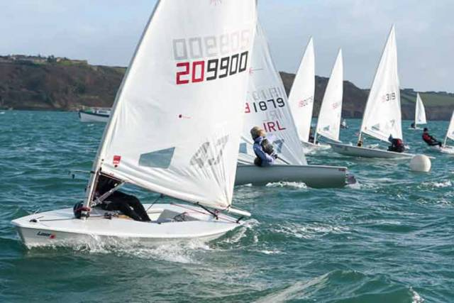 "Full Rig Laser Sailors young and old are welcome,"" says Charles Dwyer of Monkstown Bay Sailing Club which is organising the series"