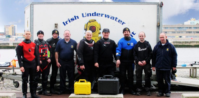 Irish Underwater Search and Recovery Unit (IUSRU) is one of two charities that will be backed in the fundraiser on Thursday 2 April