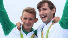 Gary and Paul O'Donovan, Olympic silver medallists.