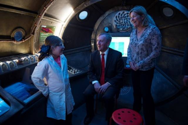 Marine Minister Michael Creed opens Ireland's first sea science gallery in Galway City Museum last month