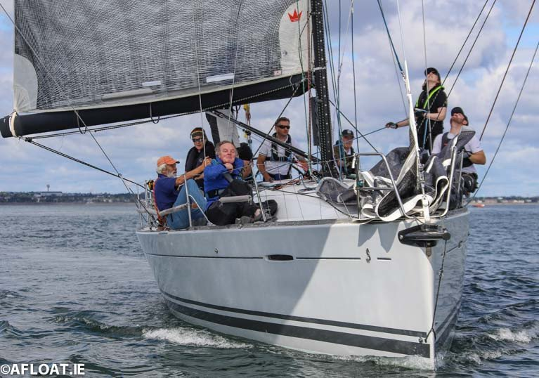 The Royal Irish First 40 Prima Forte was second in today's DBSC IRC Zero race