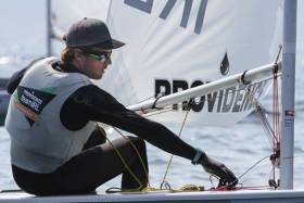 Laser sailor James Espey guaranteed Ireland a spot in Rio more than 18 months ago