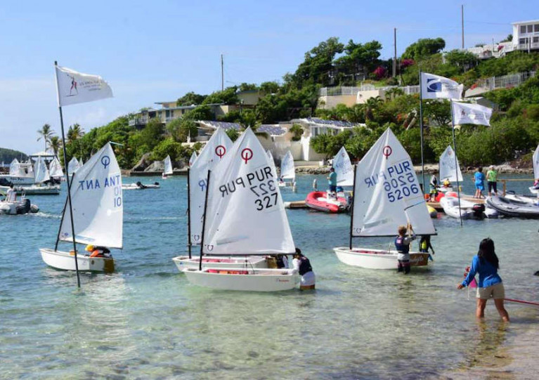 Registration Now Open for International 2021 Optimist Regatta in US Virgin Islands