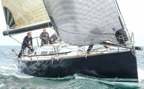 In class one of Calves Week Frank Whelan's Eleuthera from Greystones Sailing Club had a first in both IRC and ECHO divisions