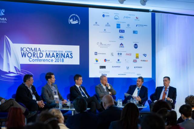 Marina managers of the world met at the World Marina Conference in Athens to discuss the importance of marinas and waterfront redevelopment for economies