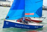 Fireflies were the boat of choice for the Leinster Schools Team Racing Championships