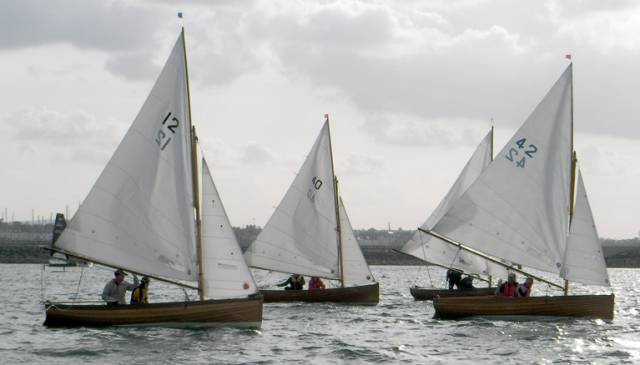 There were 18 Water Wags competing in the first race for The Newsom Memorial Cup in Dun Laoghaire Harbour last night