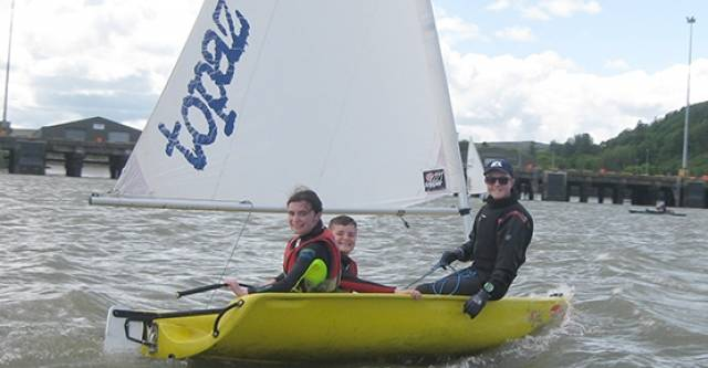 Commodore's Day 'Try Sailing' Success at Foynes Yacht Club