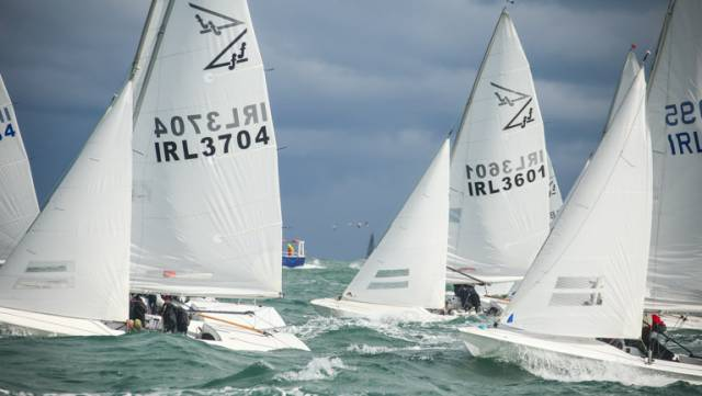 17 Flying Fifteens in the DBSC Series but all was not as it seemed on Dublin Bay