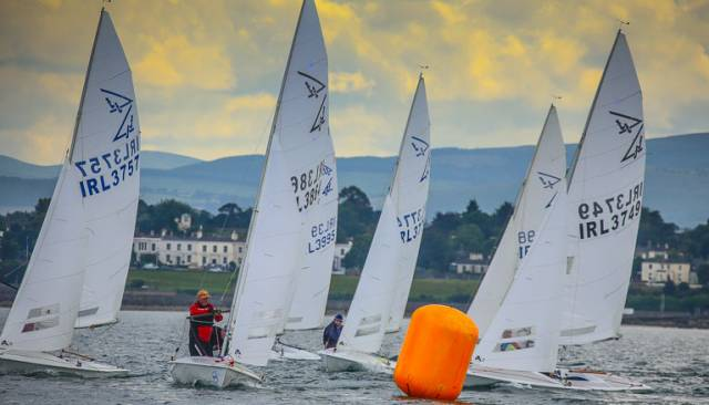 Northern Ireland sailors are in the top three places of the Flying Fifteen ranking list