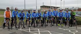 Lap of Lough Ree cyclists prepare to set out on the third running of the charity event