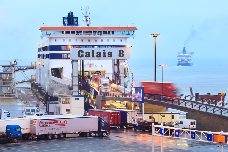 European Sea Ports Organisation (ESPO) represents the seaport authorities of all maritime Member States towards the EU institutions. Last year's EPSO Award went to the Port of Dover where AFLOAT adds above in Calais is a ferry identified as P&O's Spirit of Britain which among other ferries serving the French port and along with Dunkirk is where the UK port is currently assisting to keep food supply chain moving and ensure the NHS receives vital medical supplies through this vital cross-Channel link with mainland Europe.