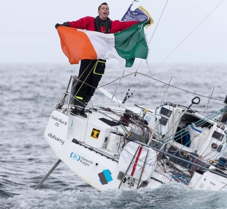 Tom Dolan finishes fifth overall - It is the best ever Irish sailing result has been achieved in the Figaro Race