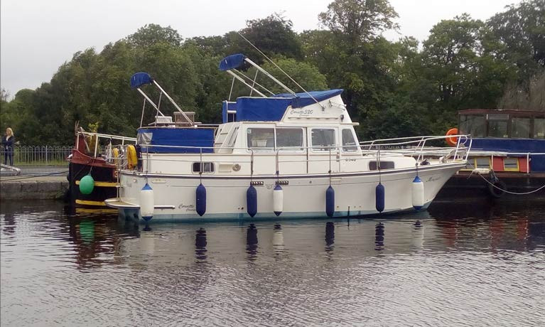 Royal Ulster Yacht Club Members in Lough Ree Rescue on the River Shannon