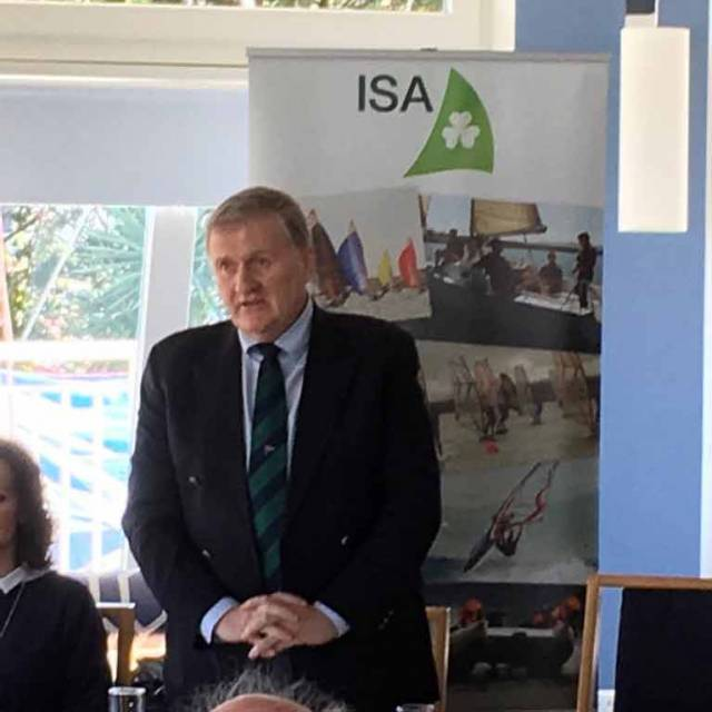 Olympic Race Officer Jack Roy Elected Irish Sailing Association President