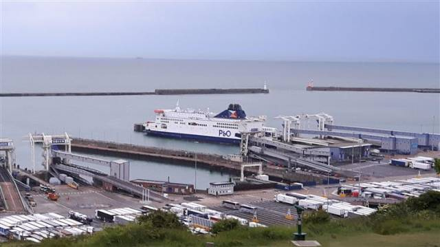 "The Port of Dover says it is ""prepared"" for Brexit having dealt with disruption like Operation Stack which has helped the Kent port. Above AFLOAT adds is berthed one of P&O Ferries 'Darwin Project' vessels that operate to Calais, France."