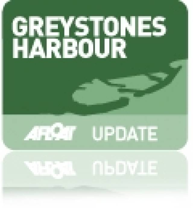 First Boats Welcomed into Greystones Harbour Marina