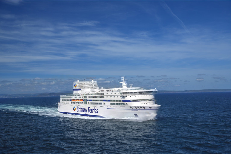 Operator, Brittany Ferries postpones the seasonal Cork-Roscoff flagship route due to current Covid-19 travel restrictions, however they hope to resume services in May. Above the custom built Pont-Aven which Afloat adds has been on the Ireland-France route since introduction in 2004.