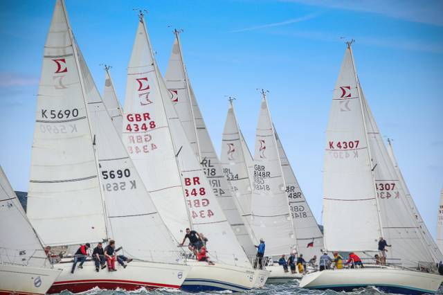 The Dun Laoghaire Regatta series had 19 entries including nine from the home waters and ten visitors from Northern Ireland, Scotland, England, the Isle of Man and local boats from Arklow and Waterford