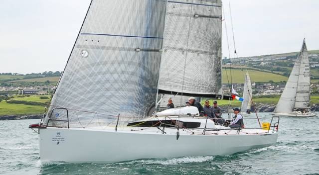 Paul O'Higgins new Rockabill VI, skippered by Mark Pettit, has been going well, as she lies sixth overall.