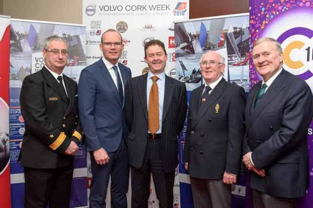 Tánaiste Launches Volvo Cork Week on Haulbowline Island in Cork Harbour