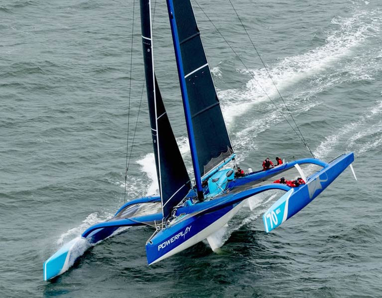 MOD70 Powerplay - capable of speeds of 40 knots