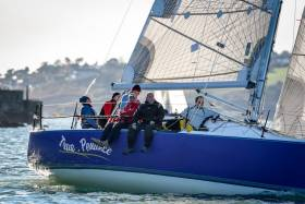 True Pennance by Roy Darrer in today's Cork Harbour race Photo gallery below