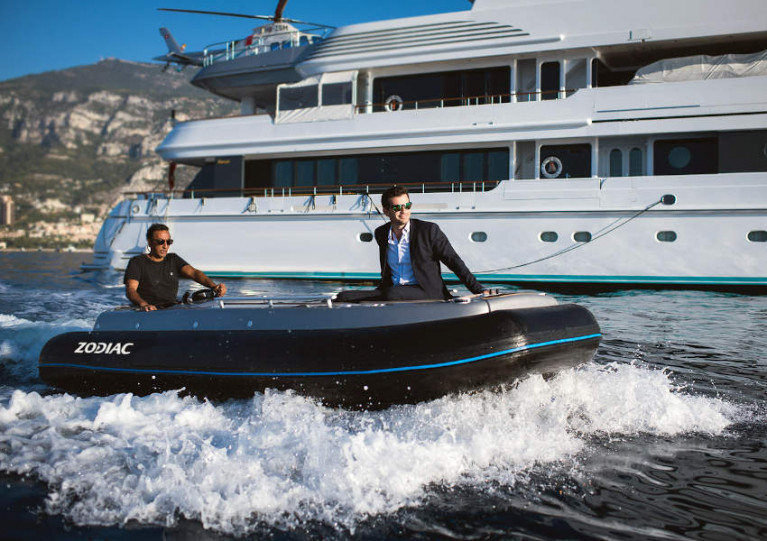 The former Avon eJET 450 will now carry the Zodiac marque