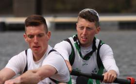Mark O'Donovan and Shane O'Driscoll, who will represent Ireland at the World Rowing Championships. Pic: Debbie Heaphy.