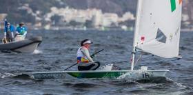 Annalise Murphy in the Laser Radial