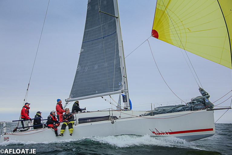 John O'Gorman's Jeanneau Sun Fast 3600 Hot Cookie from the National Yacht Club in Dún Laoghaire is the latest entry into June's Round Ireland Race from Wicklow