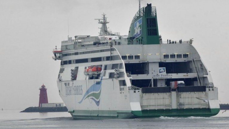 EU-UK border checks from January mean that transport companies and hauliers face delays at British ports on the Irish Sea (ferry above) and English Channel, potentially disrupting the fastest and cheapest transit route currently between Ireland and mainland Europe.