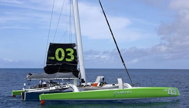 Phaedo3 has the intention of setting a World Record Run to Plymouth