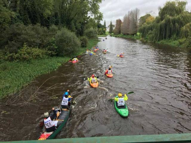 Liffey Descent Canoe Honours Go To Spanish Internationals