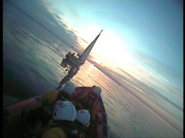 Portaferry RNLI Rescues Lone Sailor After 25ft–Yacht Breaks Down in Irish Sea