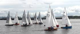 Big GP14 Turnout for Lough Foyle's Culmore Regatta