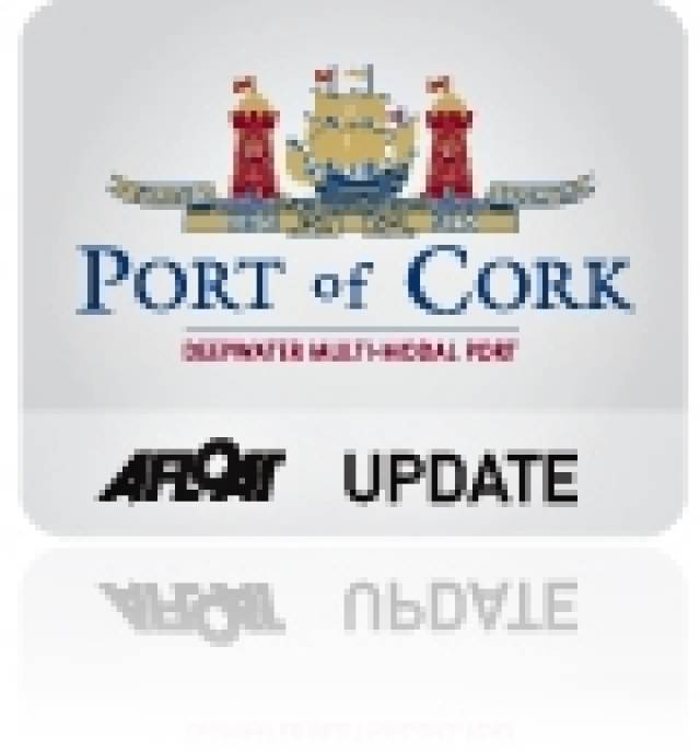 Increase in Trade Traffic 2012 Levels for Port of Cork