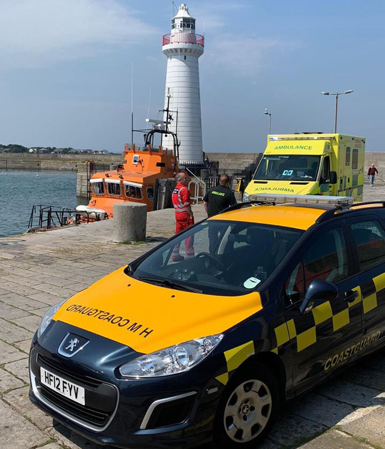 Bangor Coastguard's Busy Weekend