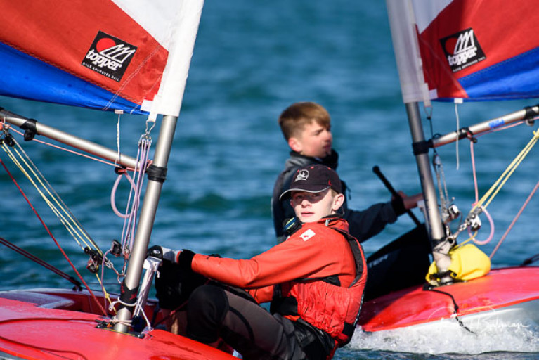 Topper racing at Royal Cork Yacht Club. See photo slideshow below