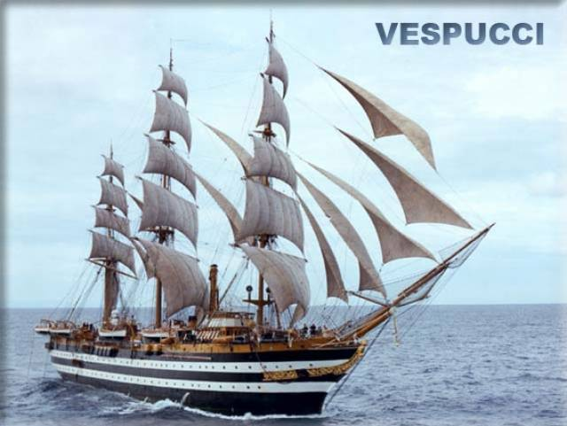 At 85 years old, the impressive Italian Navy cadet trainee school tallship, Amerigo Vespucci will be open to the public while on a three-day visit to Dublin Port