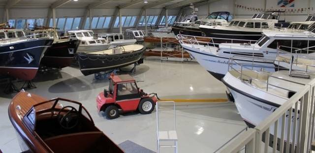 View more than 75 yachts on one day at Pedro Boats in Holland