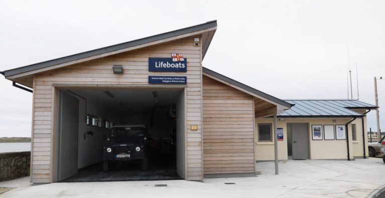 File image of Ballyglass lifeboat station