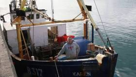 Paul Murphy, skipper of the trawler Karen that was dragged by RN submarine